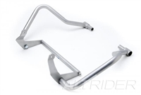 AltRider Crash Bars for the Ducati Multistrada 1200 (2015-current) With Light Mount Kit - Silver