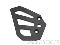 AltRider Rear Brake Master Cylinder Guard for the BMW R 1200 & R 1250 GS /GSA Water Cooled - Black