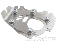 AltRider Side Stand Enlarger Foot for the BMW R 1200 & R 1250 GS Adventure Water Cooled - Silver