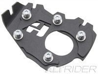 AltRider Side Stand Enlarger Foot for the BMW R 1200 & R 1250 GS Adventure Water Cooled - Black