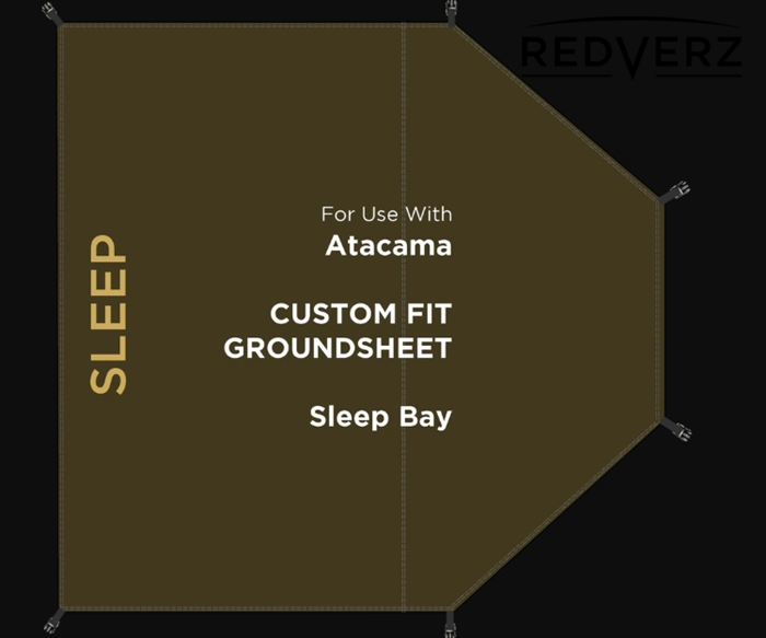 Redverz Atacama Groundsheet | Sleeping Bay