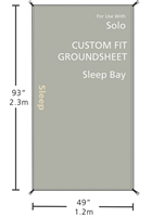 Redverz Solo Groundsheet | Sleeping Bay