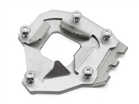 AltRider Side Stand Foot for the Yamaha Super Tenere XT1200Z (2014-current) - Silver