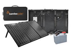 Samlex MSK-135 135 Watt Portable Solar Charging Kit