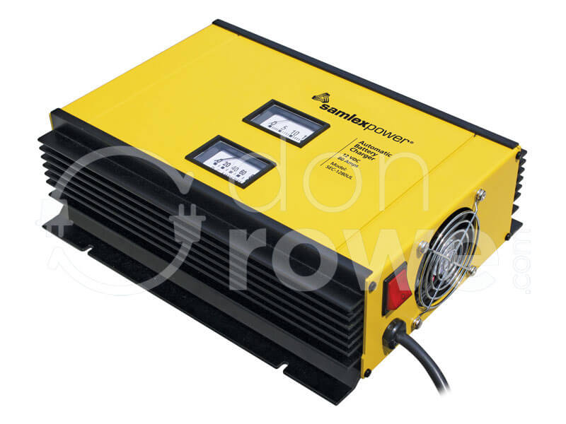 Donrowe samlex sec 1280ul 12 volt 80 amp dual bank battery alternative views publicscrutiny Images