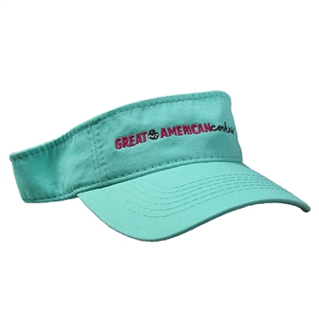 GAC New Logo Visor - Mint