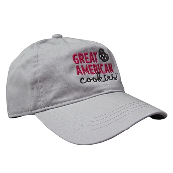 GAC Soft Cotton Cap - Light Grey