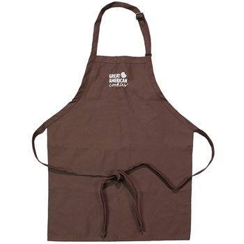 GAC New Logo Apron - Brown