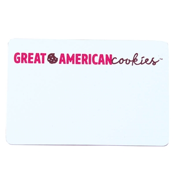 GAC 2x3 Name Tag - White