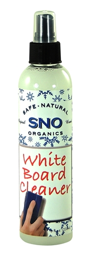 SNO Safe Natural & Organic White Board Cleaner! SAFE TO USE ON ANY SURFACE IN COMMERCIAL AND INDUSTRIAL SURROUNDINGS WHERE HEALTHLY ENVIRONMENT IS NEEDED.