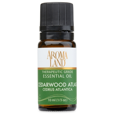 Aromaland - Cedarwood Atlas Essential Oil 10ml. (1/3oz.)