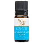 Bay Laurel & Mint Essential Oil Blend 10ml. (1/3oz.)