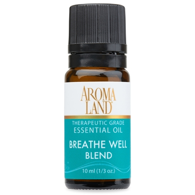 Breathe Well Essential Oil 10ml (1/3 oz.)
