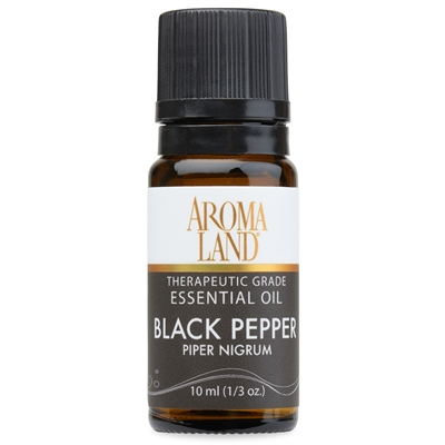 Aromaland - Black Pepper Essential Oil 10ml. (1/3oz.)