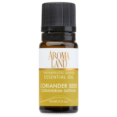 Aromaland - Coriander Seed Essential Oil 10ml. (1/3oz.)