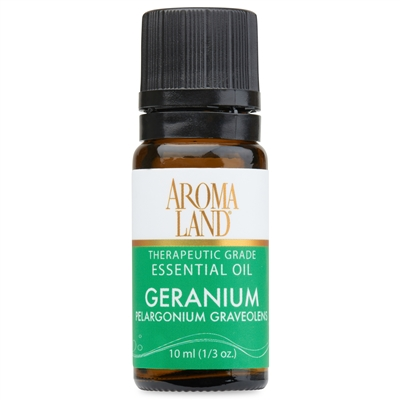 Aromaland - Geranium Essential Oil 10ml. (1/3oz.)