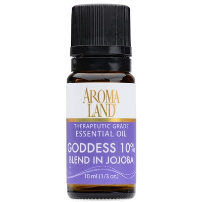 Goddess 10% Essential Oil Blend 10ml. (1/3oz.)