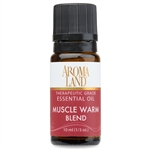 Muscle Warm Essential Oil Blend 10ml. (1/3oz.)