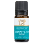 Rosemary & Mint Essential Oil Blend 10ml. (1/3oz.)