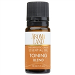 Toning Essential Oil Blend 10ml. (1/3oz.)