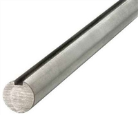 1-1116 Keyed Shaft Turn Ground Polished