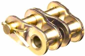 100-2 Nickel Plated Offset Link