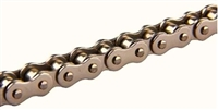 #43 Nickel Plated Roller Chain