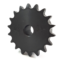 40B17 Sprocket Stock Bore 40B17 Sprocket