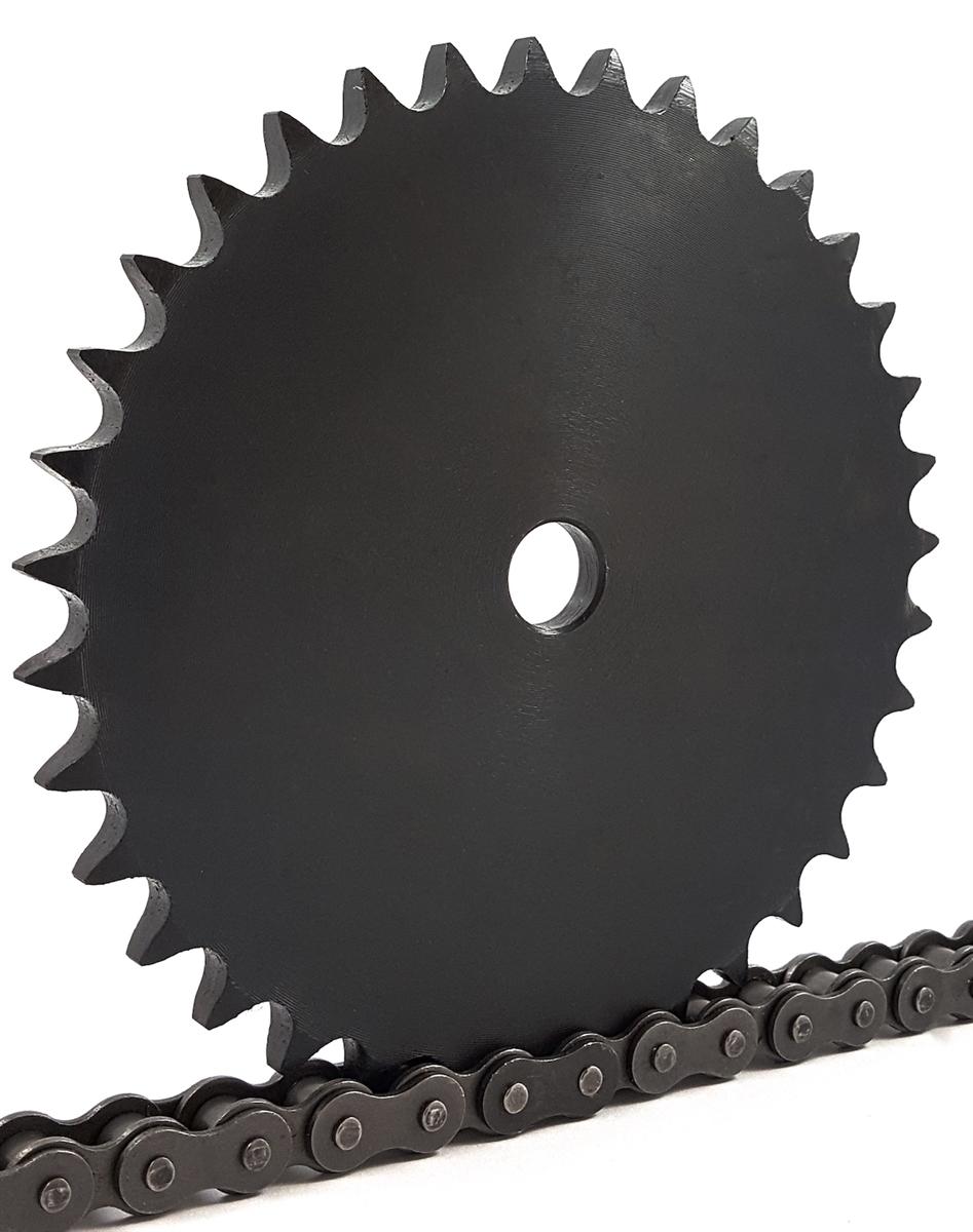 Stock Bore R49C12 50A42 WJB Sprocket #50 A Type 42 Teeth