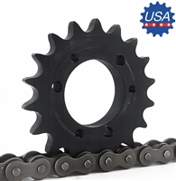 100E18 Sprocket QD Type sprocket