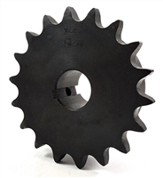 80BS18 sprocket finished bore 80BS18 sprocket