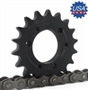 120E20 Sprocket QD Type sprocket
