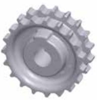 820 Z19 Solid Sprocket
