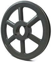 BK105H Pulley Single-Groove 10.25 OD