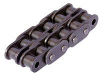 06B-2 Straight Sidebar Double Strand Roller Chain