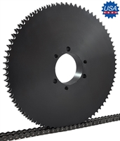 D100J80 sprocket double D100J80 sprocket