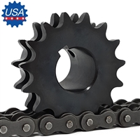 D80BS19H Sprocket 1-14 Finished Bore