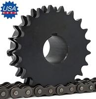 D80BS23H Sprocket 1-12 Finished Bore