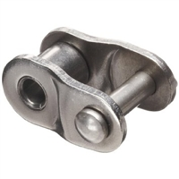 Economy Plus #100SS Stainless Steel Roller Chain Offset Link