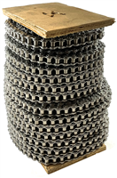 Premier Series #40SS Stainless Steel Roller Chain - 100ft Reel