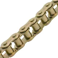 General Duty Plus #80 Nickel Plated Roller Chain