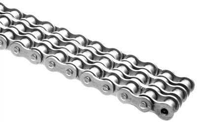 General Duty Plus #25-3 Triple Strand Stainless Steel Roller Chain