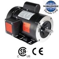 Single-Phase 1-3 HP Electric Motor 1800 RPM