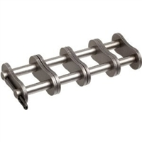 Premium Quality #100-4 Quad Strand Roller Chain Connecting Link
