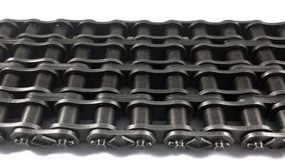 Premium Quality #100-4 Quad Strand Cottered Roller Chain