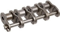 Premium Quality #120-4 Quad Strand Roller Chain Offset Link