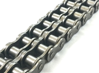 Premium Quality #25-2 Double Strand Roller Chain