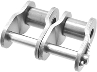 Premium Quality #25-2 Double Strand Stainless Steel Offset Link