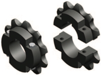 Split 2062C10 Sprocket split sprocket