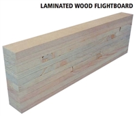 Laminated 6 Wood Flightboard